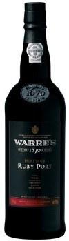 WARRE'S RUBY PORT 750ML