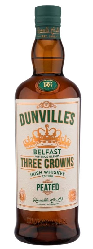 Dunville's Three Crowns Peated 700ML
