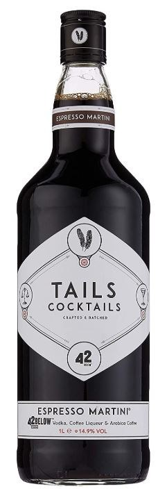Tails Espresso Martini 1L
