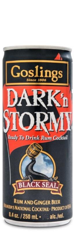 Goslings Dark'n Stormy Can 250