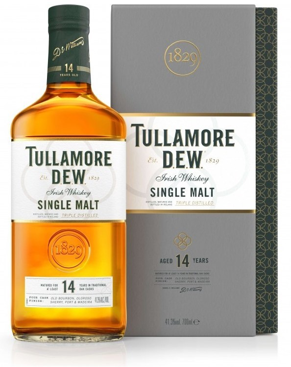 Tullamore D.E.W. 14 Year Old Single Malt 700ML