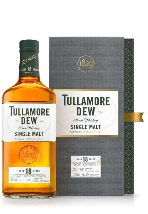 Tullamore D.E.W. 18 Year Old Single Malt 700ML