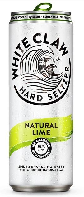 White Claw Hard Seltzer Natural Lime 330ML