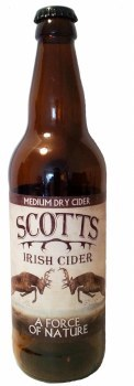 Scotts Elderflower Cider 500