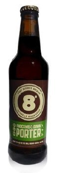 Eight Degrees Knockmealdown Porter 330ML