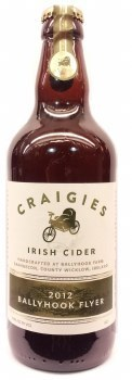 Craigies Irish Cider, Ballyhook Flyer 500ML