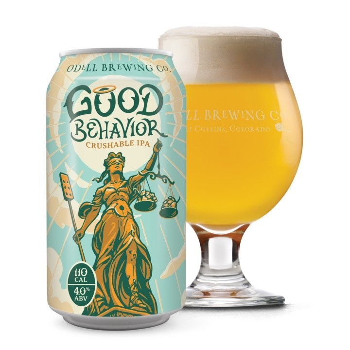 Odell's Good Behaviour Crushable IPA Can 355ML