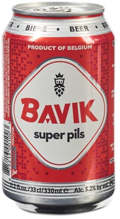 Bavik Super Pils Can 24x350ML