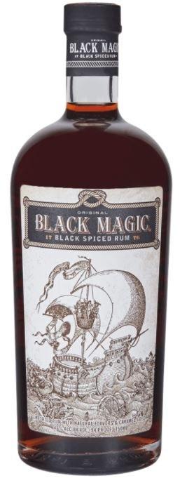 Black Magic Black Spiced Rum 700ML