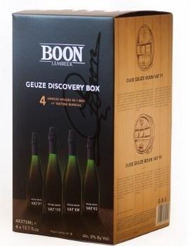 Boon Geuze Discovery Box 4 x375ML