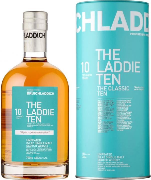 Bruichladdich The Laddie Ten 700ML (First Edition Bottling)