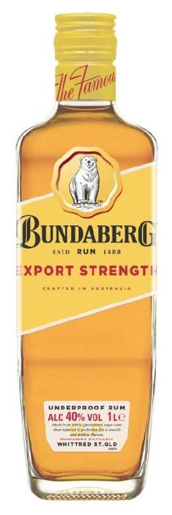 Bundeberg Rum Export Strenght 1000ML