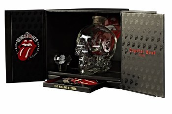 Crystal Head 700ML Special Rolling Stones 50th Anniversary Limited Edition