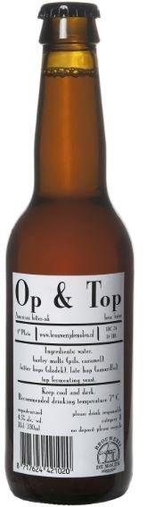 De Molen Op & Top 330ML
