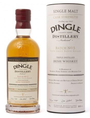 Dingle Single Malt Cask Strength Batch #5 700ML