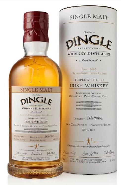 Dingle Single Malt Cask Strength Batch #4 700ML