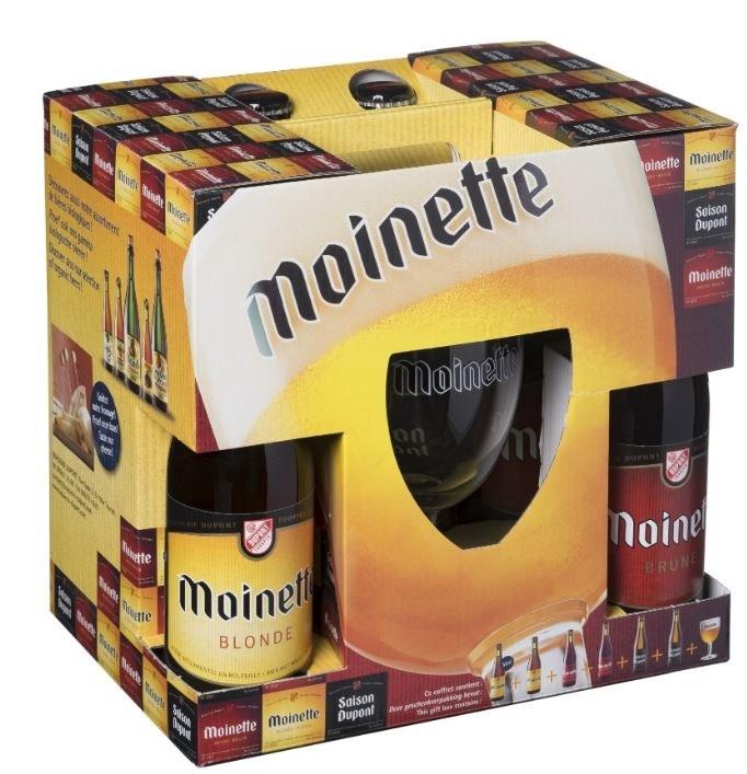 Brasserie Dupont Gift Pack 6 Bottles & Glass