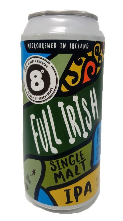 Eight Degrees Full Irish Can 440ML