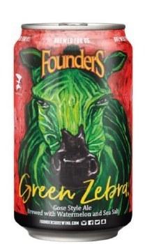 Founders Green Zebra Can 355ML