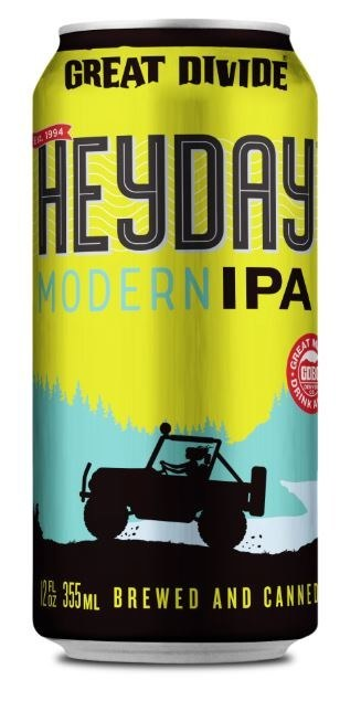 Great Divide Heyday IPA Can 355ML