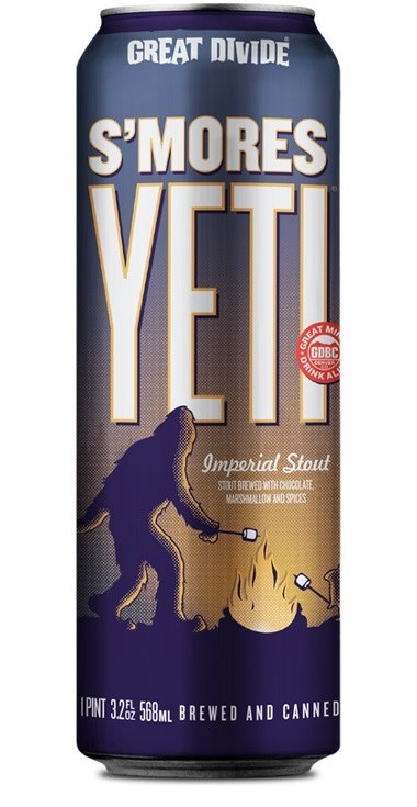 Great Divide S'mores Yeti Can 568ML
