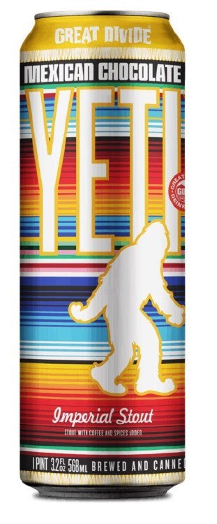 Great Divide Yeti Mexican Chocolate Can 568ML