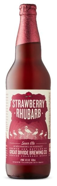 Great Divide Strawberry Rhubarb Sour 650ML