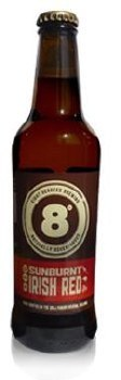 Eight Degrees Sunburnt Red Ale 330ML