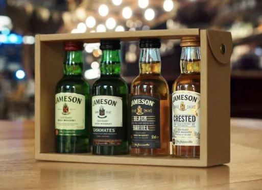 Jameson Family Minature Gift Set 4 x 50ML