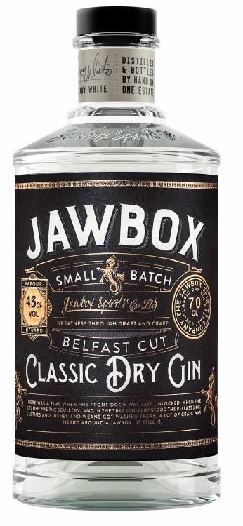 Jawbox Small Batch Gin 700ML