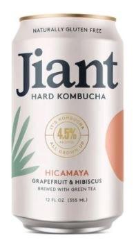Jiant Hicamaya Grapefruit & Hibiscus Hard Kombucha 355ML