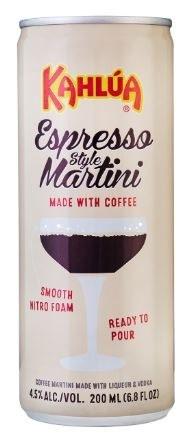 Kahlua Espresso Martini Can 12x200ML