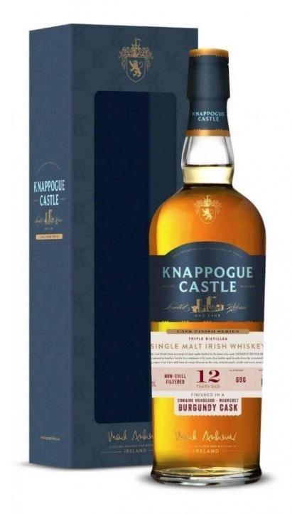 Knappogue Castle 12 Year Old Burgundy Cask 700ML