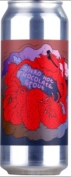 Lervig Nitro Hot Chocolate Stout 500ML