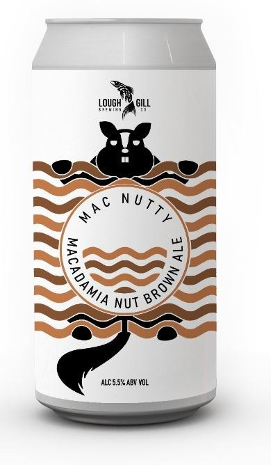 Lough Gill Mac Nutty Can 24x440ML