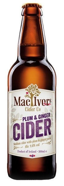 Mac Ivors Plum & Ginger 500ML