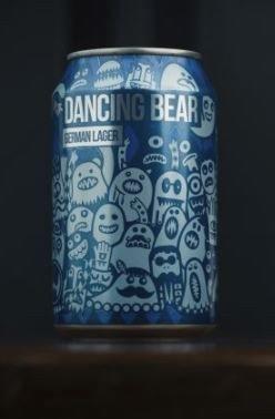 Magic Rock Dancing Bear German Lager Can 330ML