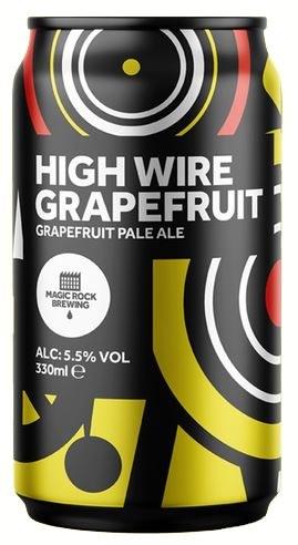 Magic Rock Highwire Grapefruit Pale Ale Can 330ML