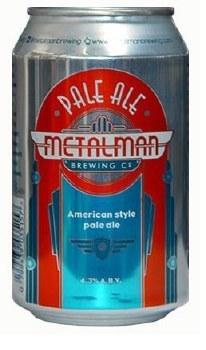 Metalman Pale Ale Can 24x330ML (Case Only)