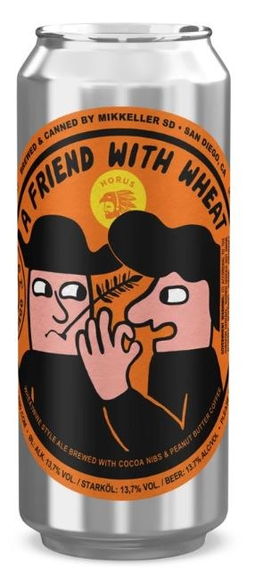 Mikkeller San Diego A Friend With Wheat Can 473ML
