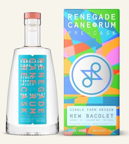 Renegade Rum Dunfermline New Bacolet 70CL