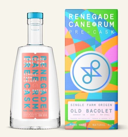 Renegade Rum Dunfermline Old Bacolet 70CL