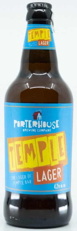 Porterhouse Temple Lager 12x500ML