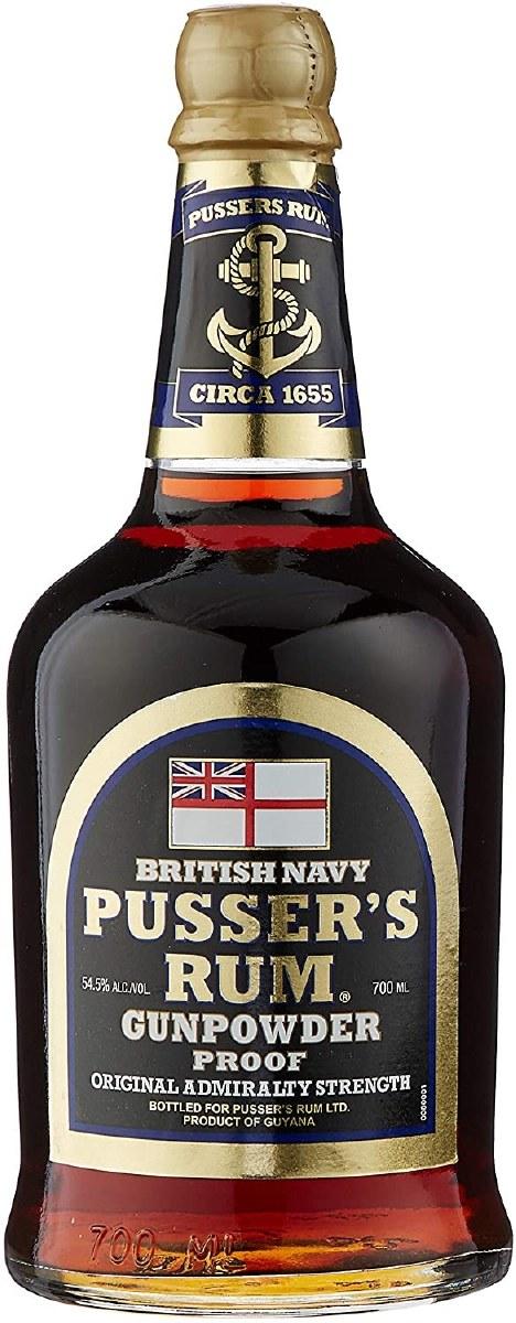 Pusser's Rum Gunpowder Proof 700ML