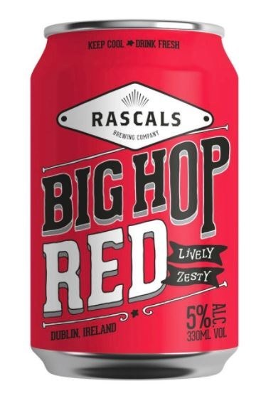 Rascal's Big Hop Red Can 330ML