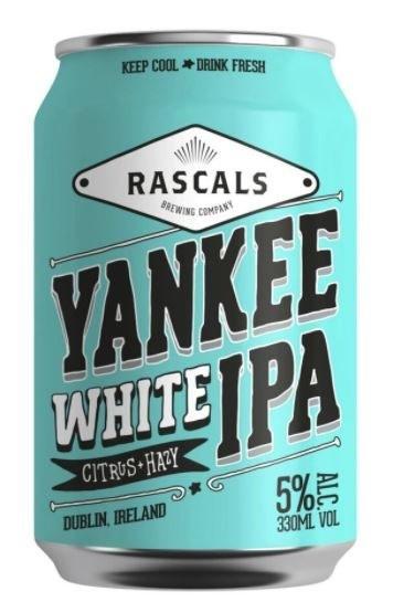 Rascal's Yankee White IPA Can 330ML