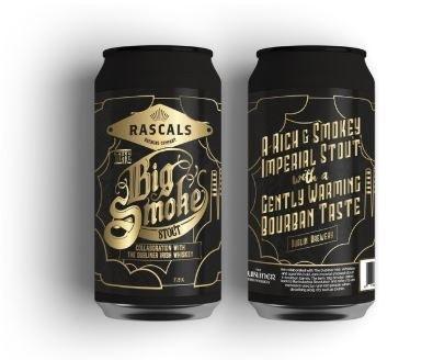 Rascal's Big Smoke Stout 440ML