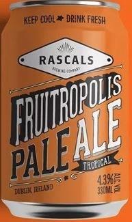 Rascals Fruitropolis Can 330ML