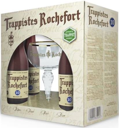 Rochefort Glass Chalice Gift Pack 4 x330ML