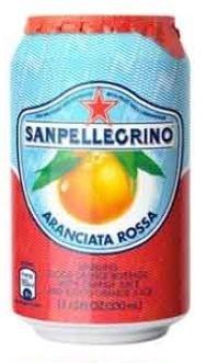 San Pellegrino Blood Orange Can 24x330ML
